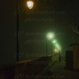 Lights in the fog...